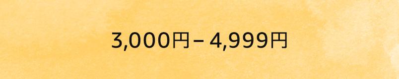 3000〜5000円