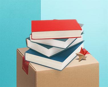 本はまとめ買いで最大10%ポイント