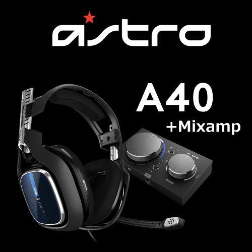 Astro ゲーミングヘッドセット A40 TR+MixAmp Pro