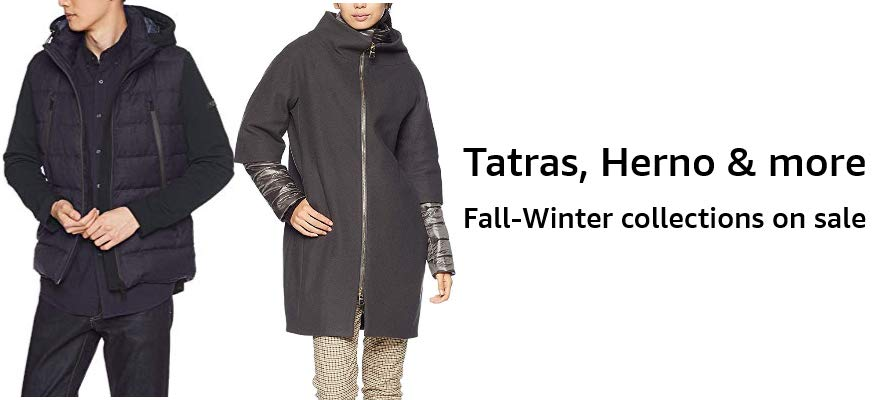 Tatras, Herno & more Fall-Winter collections on sale