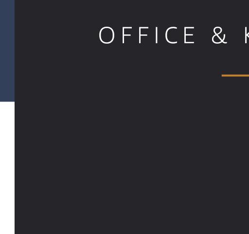 OFFICE & KITCHEN