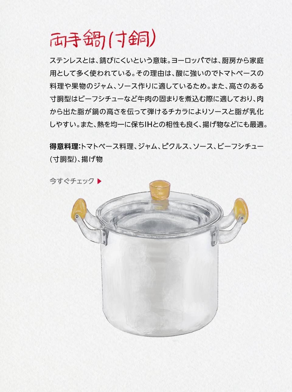 両手鍋(寸胴)