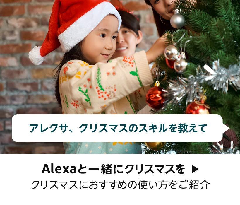 アレクサと一緒にクリスマスを クリスマスにオススメのスキルをご紹介