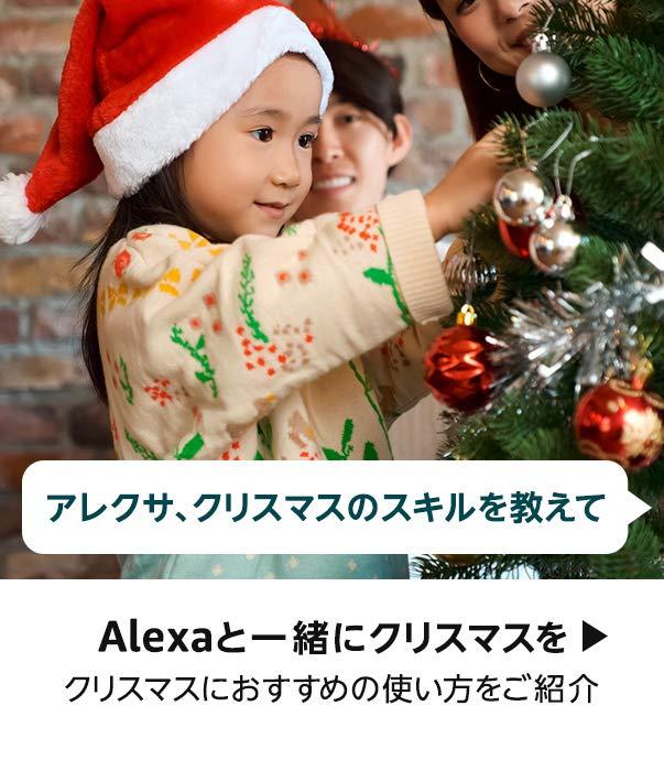 Alexaと一緒にクリスマスを