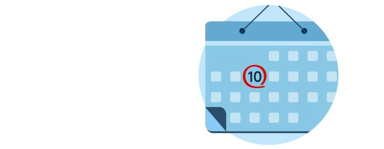 のカレ翌月10日までにまとめてお支払いカレンダー画像丸抜き