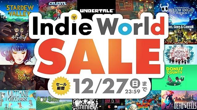Amazon x Nintendo Switch「Indie World SALE」