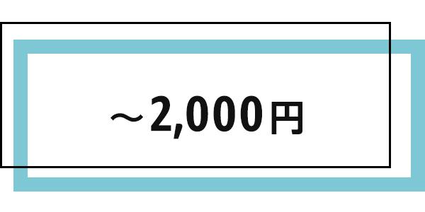 ホワイトデーギフト 2000円以下