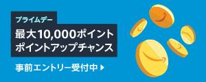 最大10,000ポイント還元