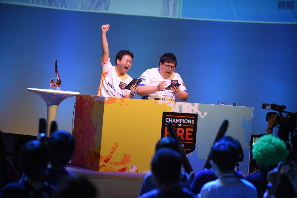 Champions of Fire Japan