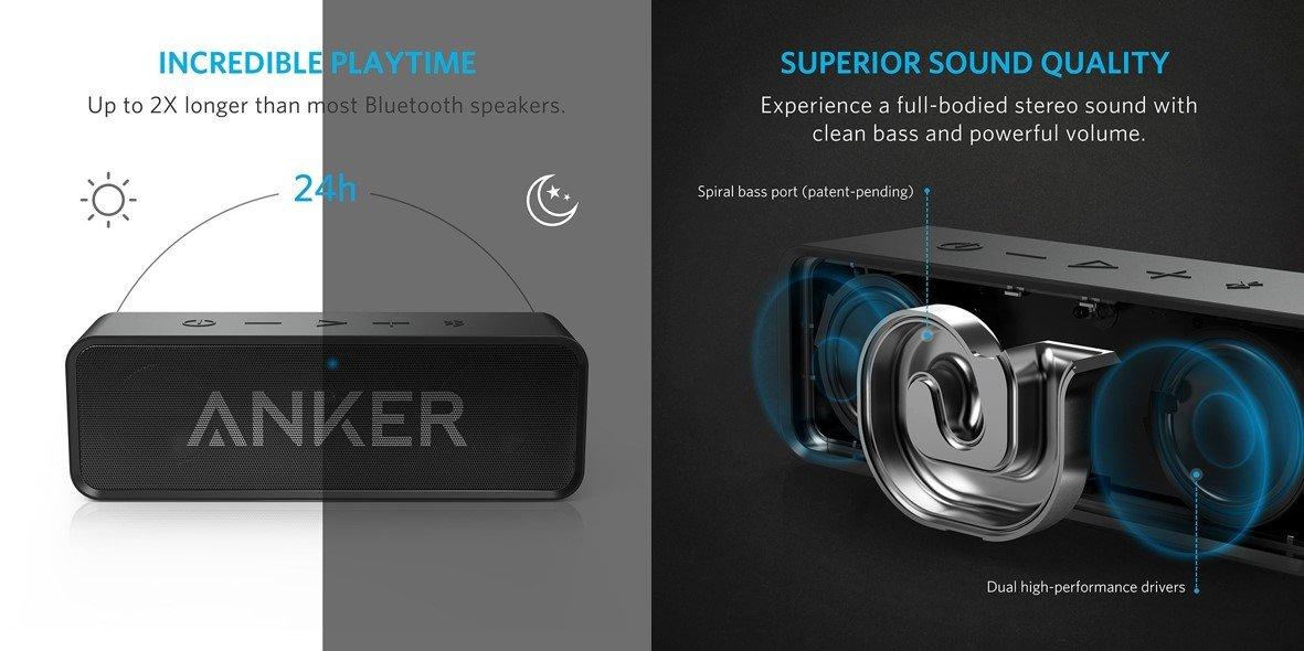 Anker SoundCore (Bluetoothスピーカー)
