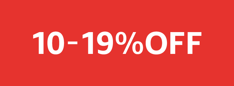 10-19% OFF
