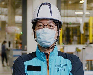 Amazonで働く社員たちの素顔-松井章雄さん