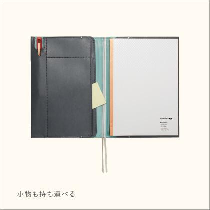 コクヨ ノートカバー KOKUYO ME A5 黒 KME-NC665DM GRAYISH BLACK
