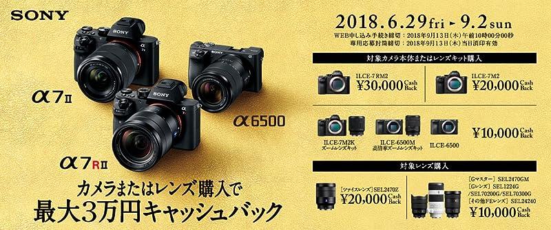 【SONY】αスタートアップキャンペーン