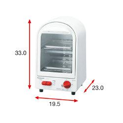 Panasonic オーブントースター ホワイト NT-Y12P-W