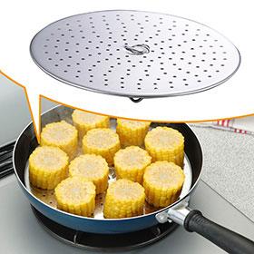 Amazon|フライパン用 蒸し調理プレート19462|付属品 ...