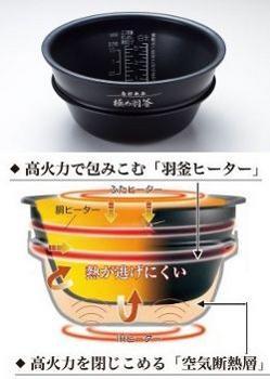 ZOJIRUSHI 圧力IH炊飯ジャー NP-ST10-BP