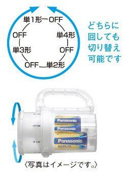 Panasonic 電池がどれでもライト