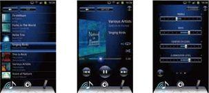 オリジナルアプリで音楽再生もAVレシーバーの操作も快適