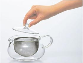 HARIO 茶茶急須 丸 450ml CHJMN-45T