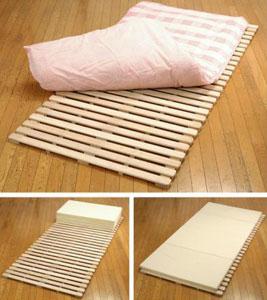 桐 和風すのこベッド ライド