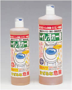 便器の黄バミ・汚れ・悪臭除去剤 「トイレ汚れ一番」 500ml