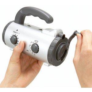 アイリスオーヤマ 手回し充電ラジオライト JTL-20