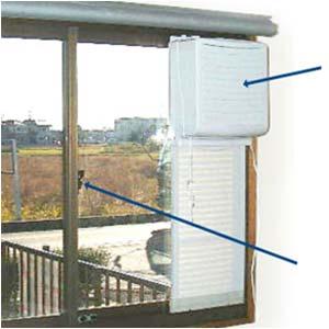 日本電興 窓用換気扇 FW-20G