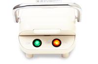Moffle(モッフル) モッフルメーカー 【新しいニッポン食モチ+ワッフル=モッフル! 】 ミルクホワイト 1枚焼き
