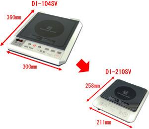 DRETEC コンパクトIH電磁調理器