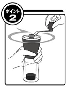 ハリオ コーヒーミル・セラミックスリム MSS-1B