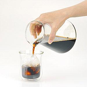 iwaki ウォータードリップコーヒーサーバー 440ml K8644-CL