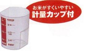アスベル 密閉米びつ パッキン付 6kg