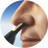 「鼻・耳・眉ケアがこれ1本」水洗いできる PHILIPS ノーズ&イヤー トリマー NT9110
