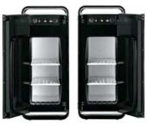 TWINBIRD 電子適温ボックス フリースタイルサーモキーパー ブラック HR-D205B