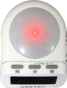 DRETEC デジタルタイマー タイムアップ ホワイト T-186WT