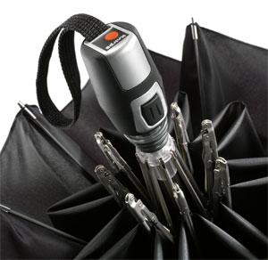 Knirps Fiber T2 Duomatic 折りたたみ傘 自動開閉式