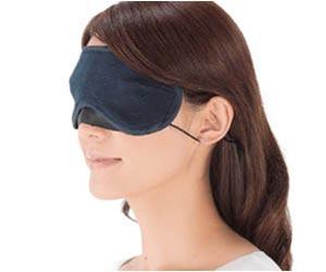 立体型アイマスク ナイトブルー