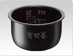 三菱 IHジャー炊飯器NJ-XS10J-S「蒸気レスIH」 (ダイヤモンドシルバー 5.5合炊き)