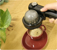 ハンディ型エスプレッソマシン ハンドプレッソ(Handpresso) DHP01