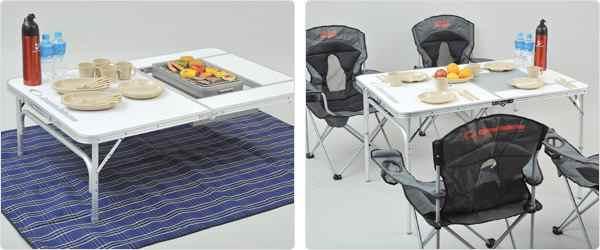 通常のテーブルとしてもワイドに使用可能