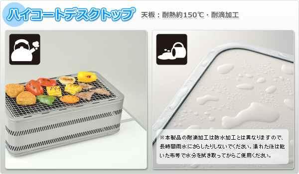 天板:耐熱、耐滴加工