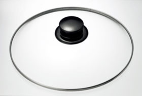 Panasonic IH調理器用斡旋鍋 ブラック KZ-AN10-K