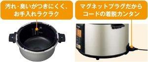 Panasonic マイコン電気圧力なべ ノーブルシャンパン SR-P37-N