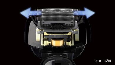 Panasonic ラムダッシュ3枚刃 シルバー調 ES-GA21-S