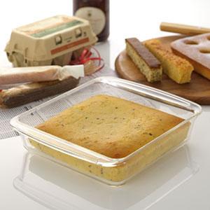 iwaki ケーキ焼き皿