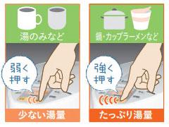 Panasonic 沸騰浄水ジャーポット シルバーホワイト NC-SU3