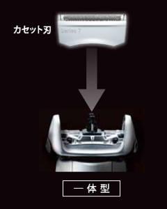 ブラウン シェーバー シリーズ7 網刃・内刃一体型カセット ブラック F/C70B-3