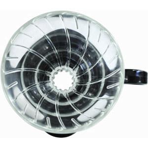 ハリオ V60耐熱ガラス透過ドリッパー