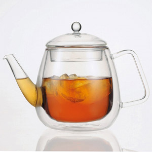 iwaki 岡田美里 紅茶ソムリエシリーズ 【2重構造耐熱ガラス】 Airティーポット ML816